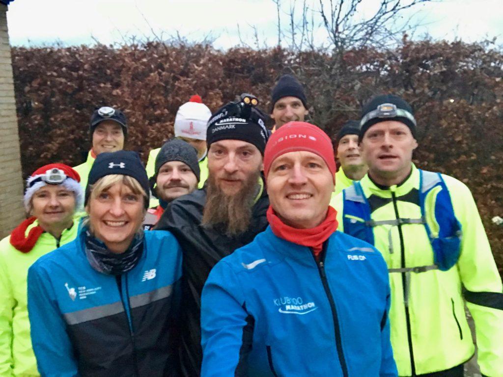 Deltagerne ved Horsens Garage Marathon